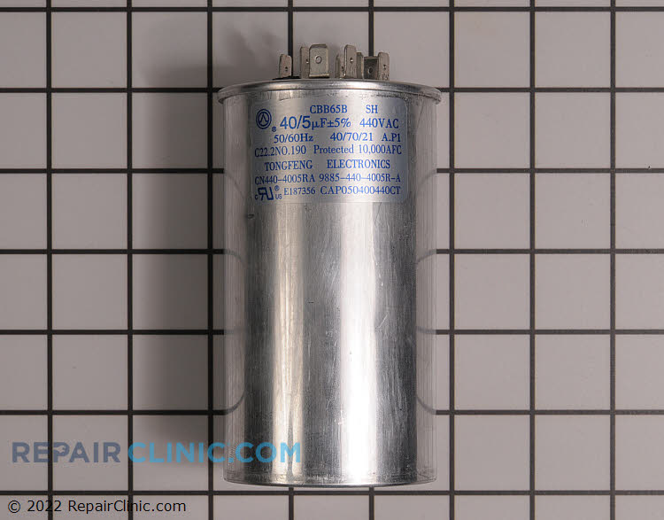 Dual Run Capacitor CAP050400440RTP Alternate Product View