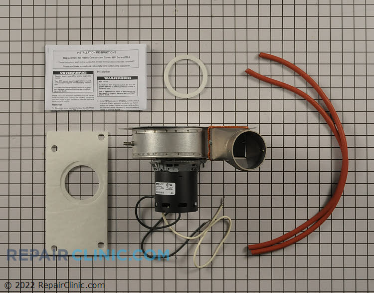 Draft Inducer Motor 1010780 Alternate Product View