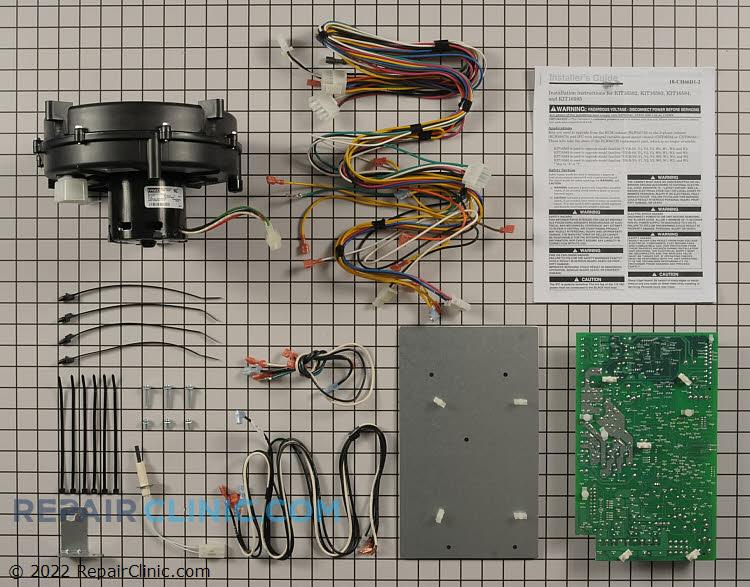 Draft Inducer Motor KIT16584        Alternate Product View