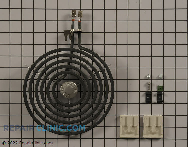 8-inch coil surface element kit for electric range. If this surface element does not have a continuous electrical path, it will not heat.
