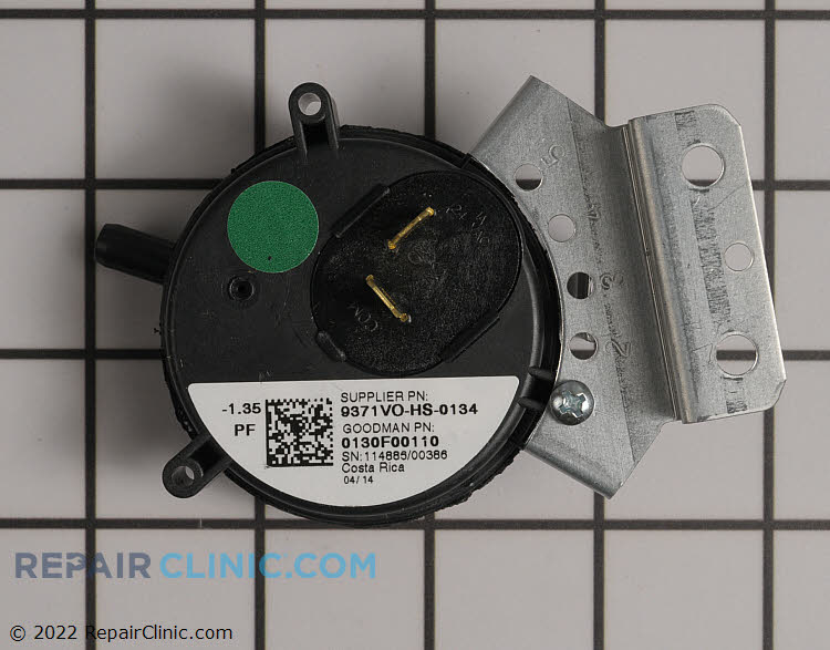 Pressure Switch 0130F00110 Alternate Product View