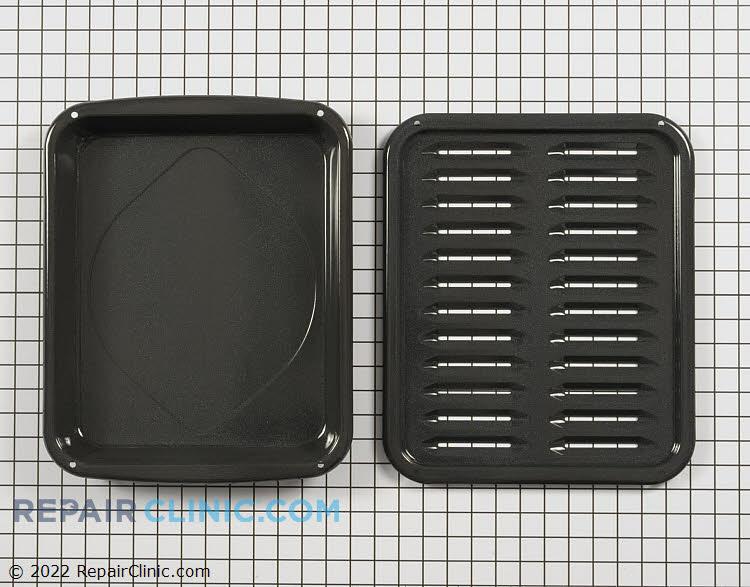 Broiler pan and insert