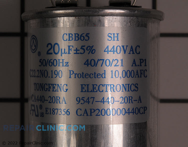 Run Capacitor CAP200000440RPP Alternate Product View