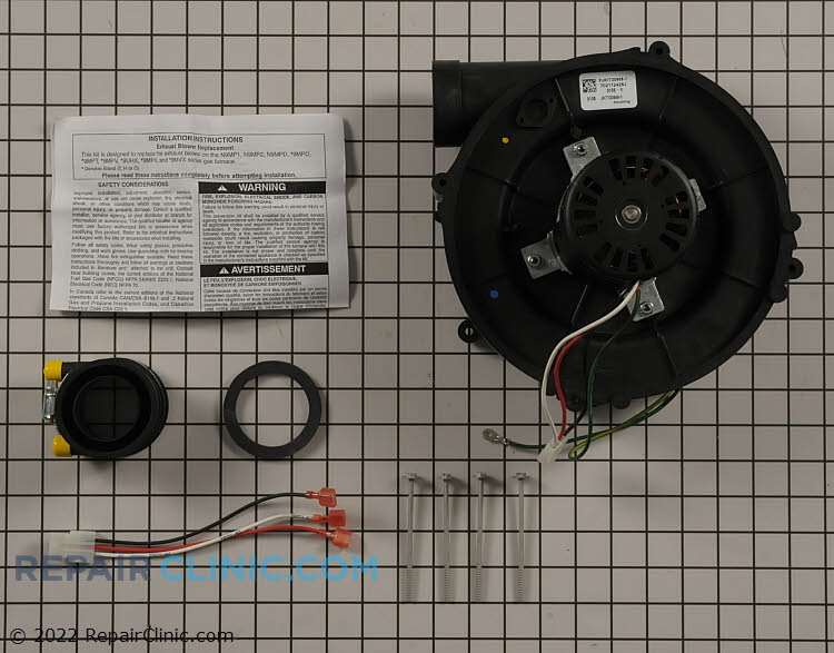 Draft Inducer Motor 1172826 Alternate Product View