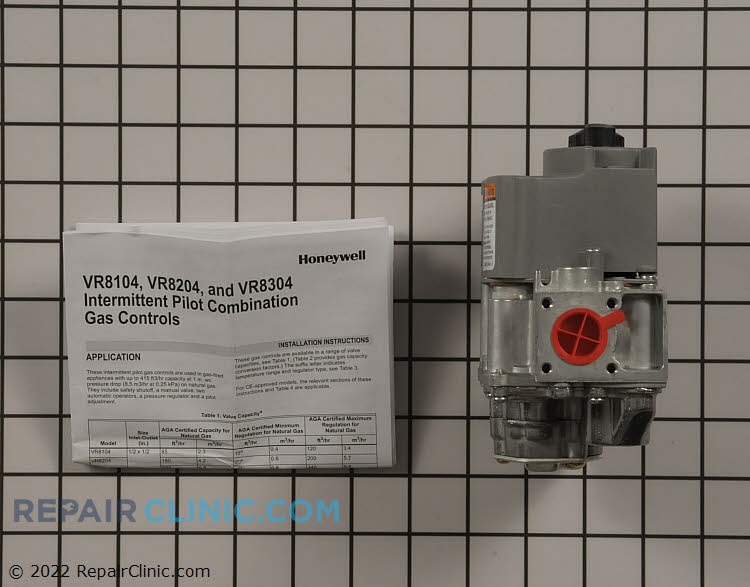 Gas Valve Assembly VR8204C1019 Alternate Product View