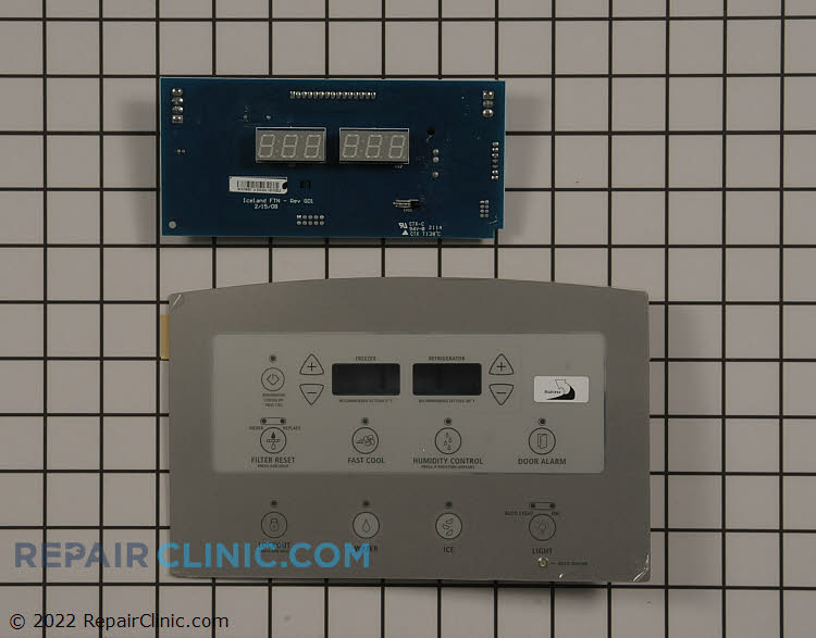 Dispenser Control Board W10740218       Alternate Product View