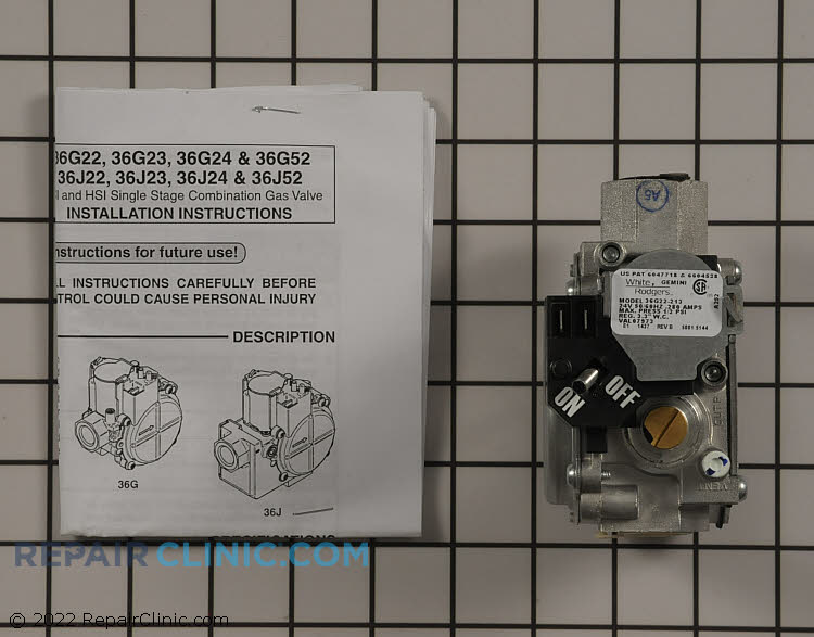 Gas Valve Assembly VAL07973 Alternate Product View