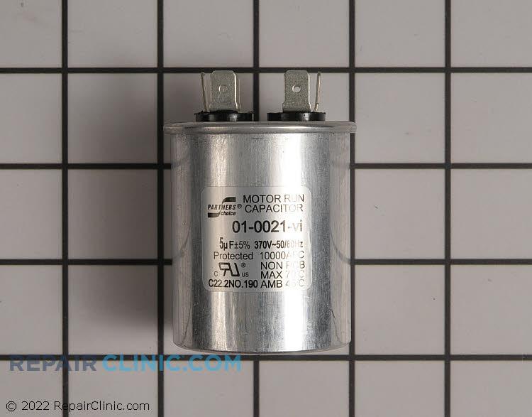 Round run capacitor 5mfd 370v
