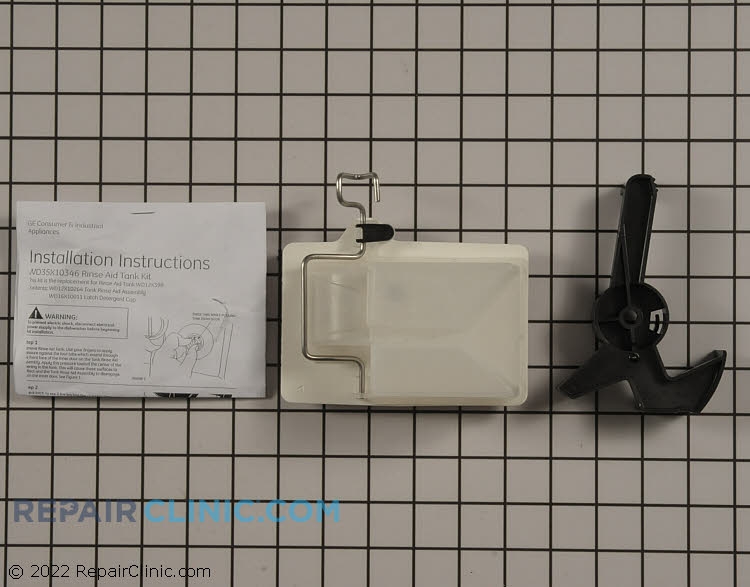 Detergent Dispenser WD35X10346      Alternate Product View