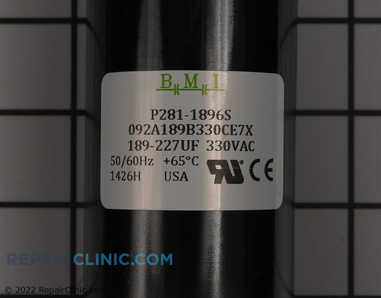 Start Capacitor P281-1896S Alternate Product View