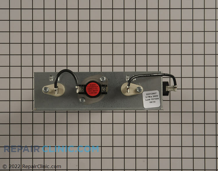 Heating Element Assembly 22312907 Alternate Product View