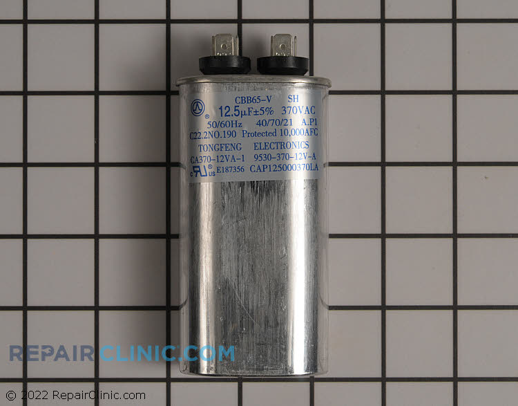 Run Capacitor CAP125000370VAP Alternate Product View
