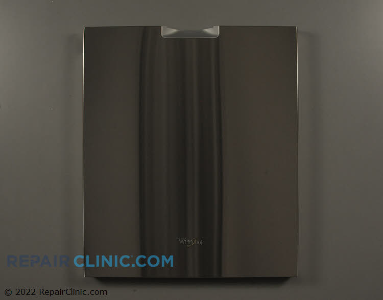 Outer door panel, stainless