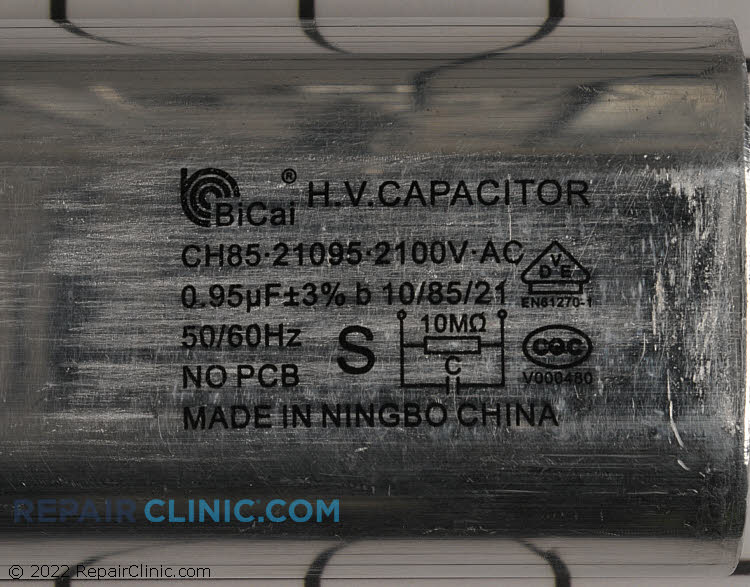 Capacitor 0CZZW1H004A Alternate Product View