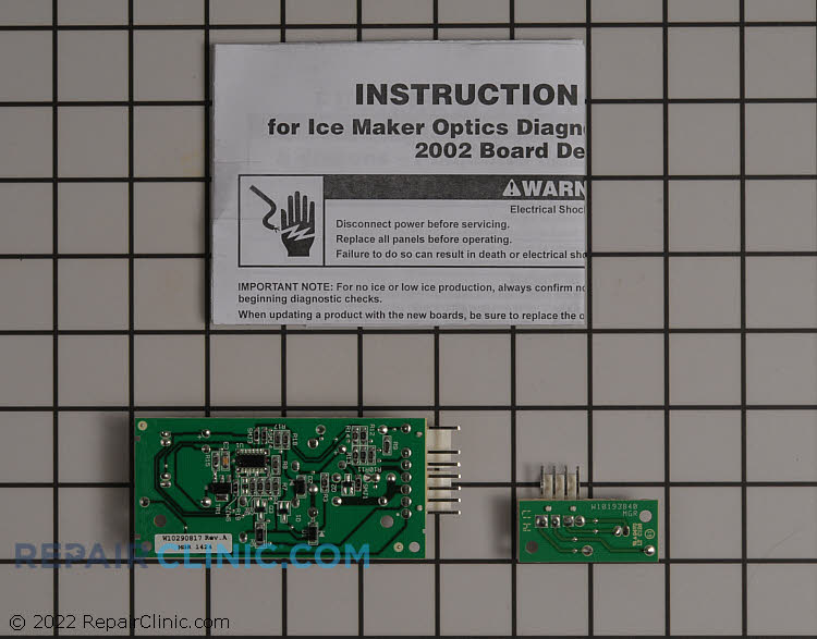 Ice Level Control Board W10757851 Alternate Product View
