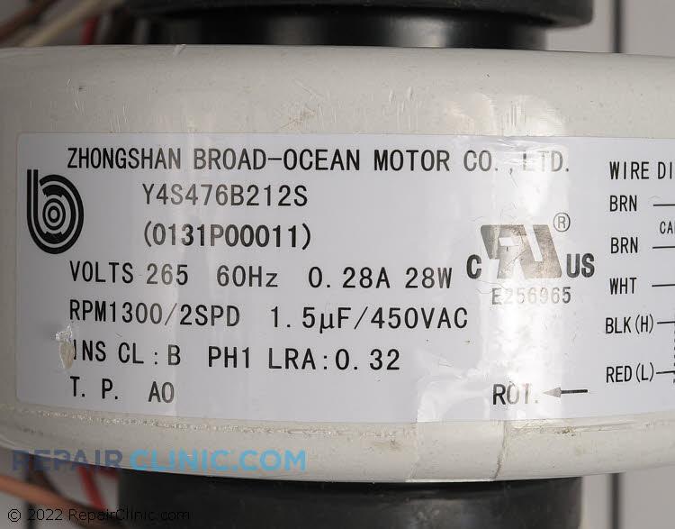 Fan Motor 0131P00011 Alternate Product View