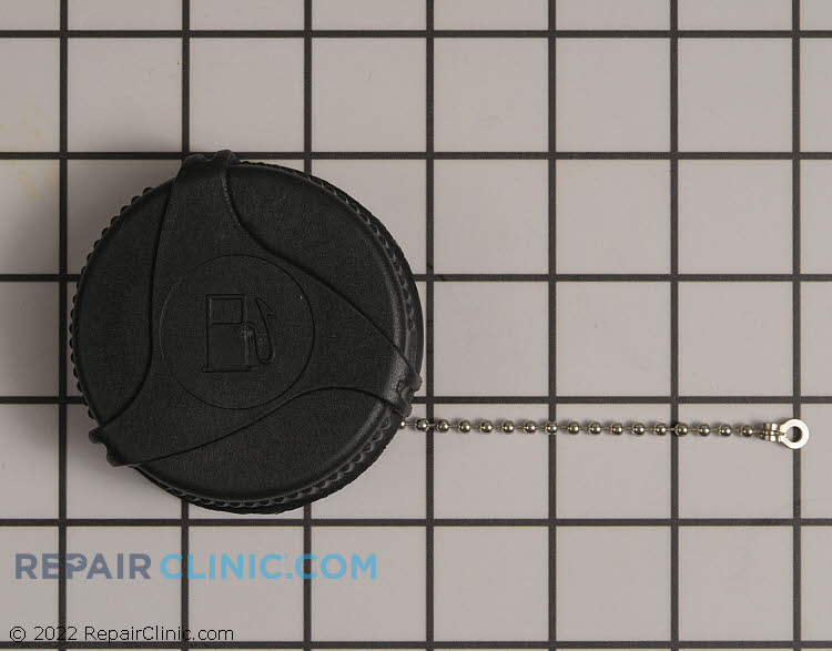 Fuel cap-tethered non-vented