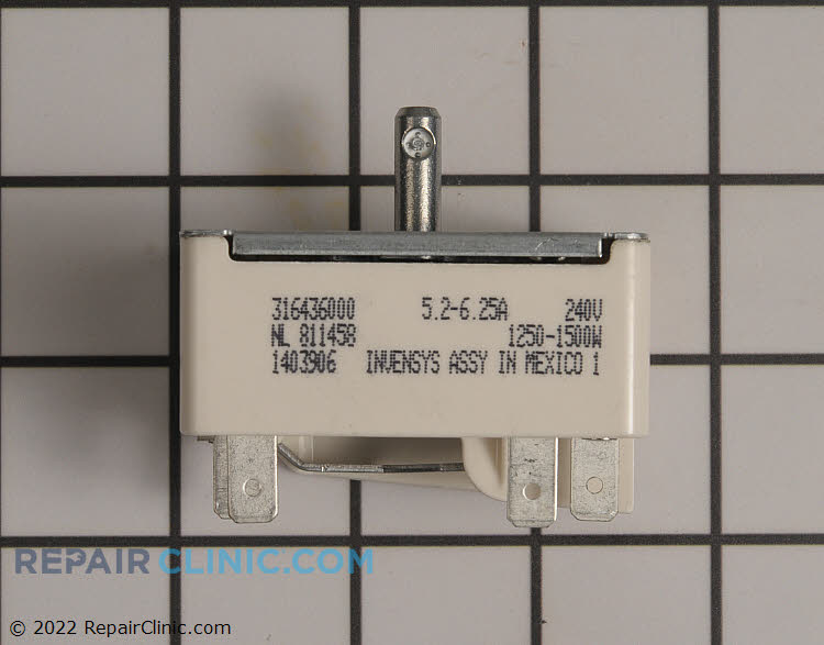 Surface element control switch for the small surface element