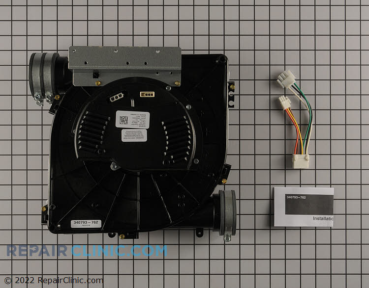 Draft Inducer Motor 340793-762 Alternate Product View