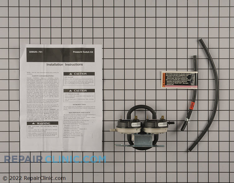 Pressure Switch 328529-752 Alternate Product View