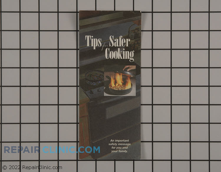 Safe Cooking Tips Brochure in English