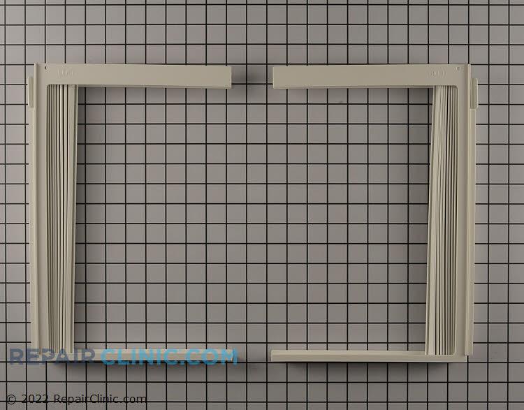 Window filler kit containing slider panels.