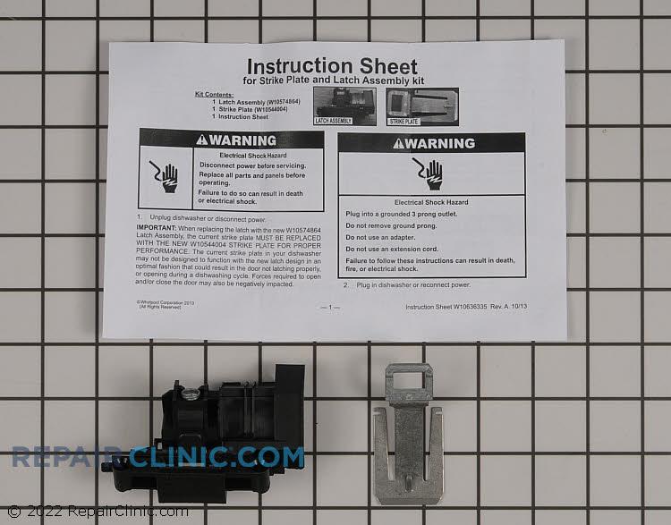Door Latch W10619006       Alternate Product View