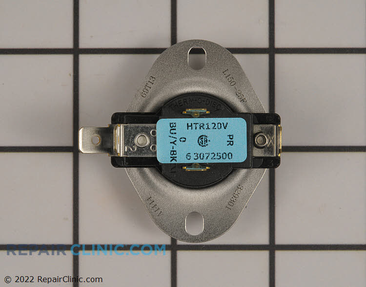 Cycling thermostat with internal bias heater, L150-25, 5 terminal