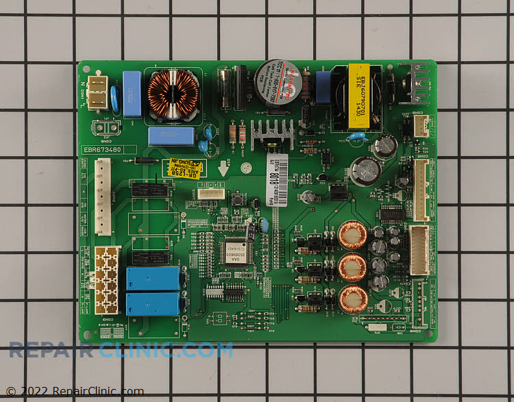 Main Control Board EBR67348018 Alternate Product View