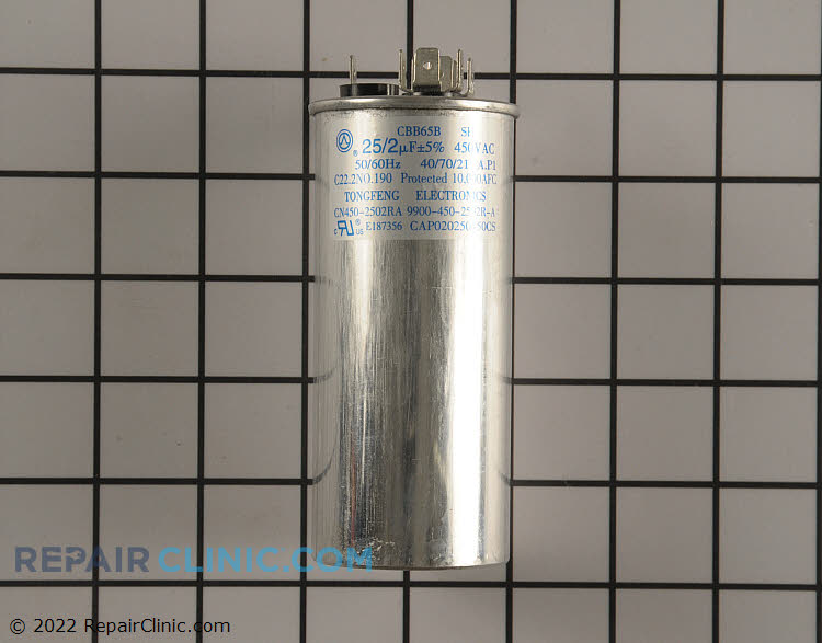 Dual Run Capacitor CAP020250450CS Alternate Product View