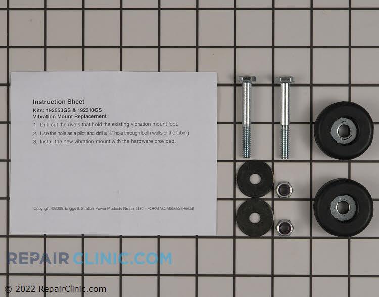 Mounting vibration service kit