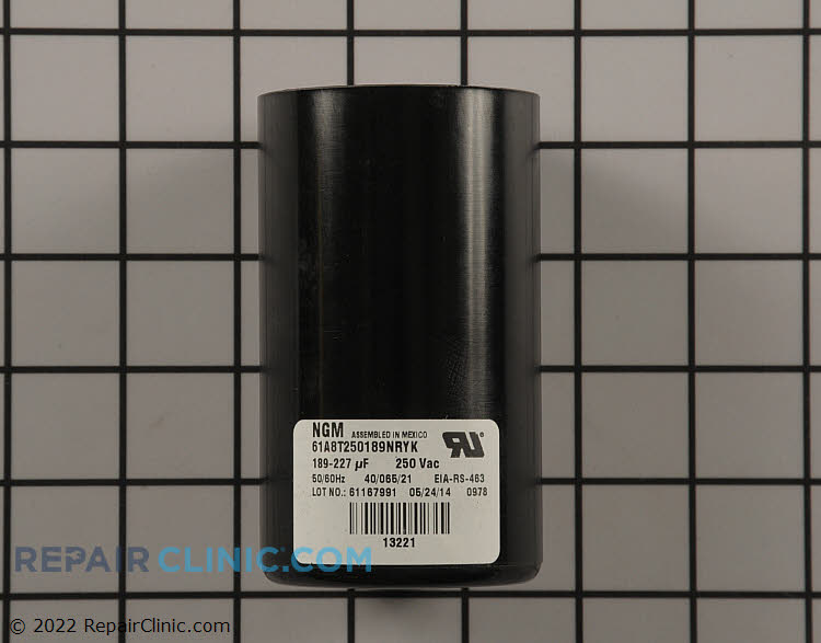 Start Capacitor S1-02436283000 Alternate Product View