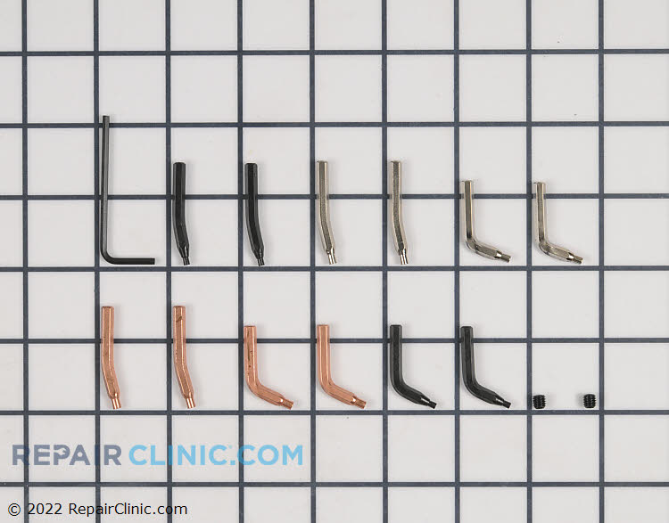 5 PC. Universal Retaining Ring Tip Kit. Includes 5 pairs of interchangeable tips.