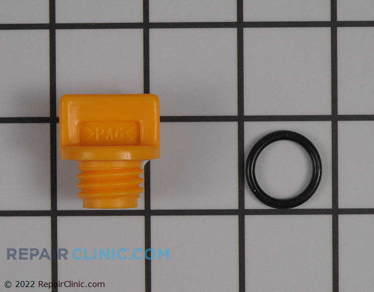 Oil fill plug assemb