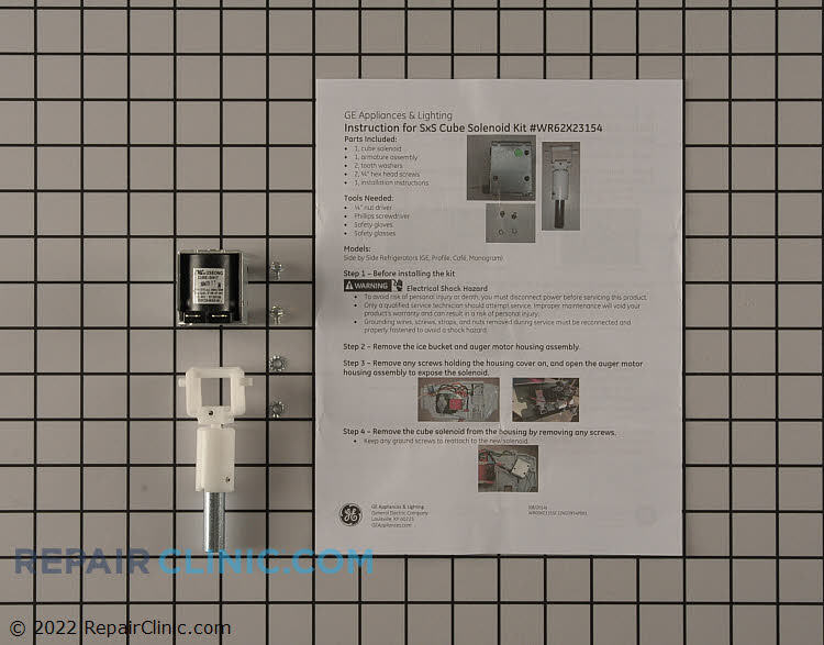 Ice crusher solenoid plunger