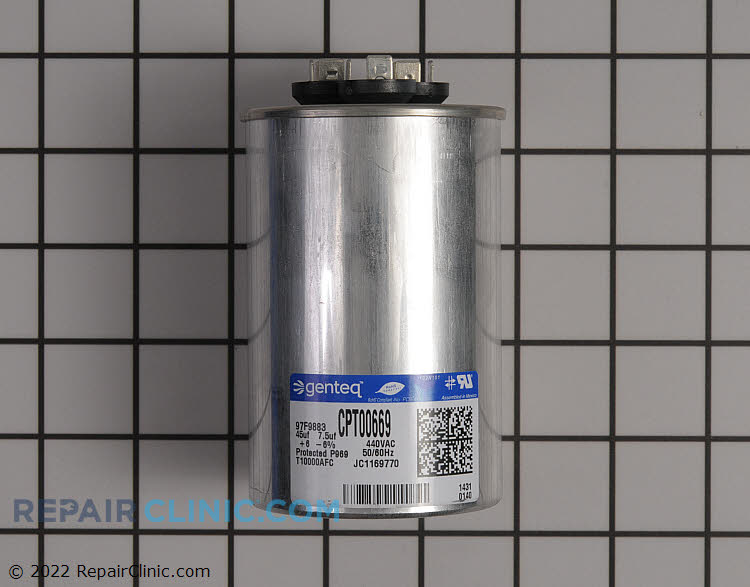 Dual Run Capacitor CPT00669 Alternate Product View