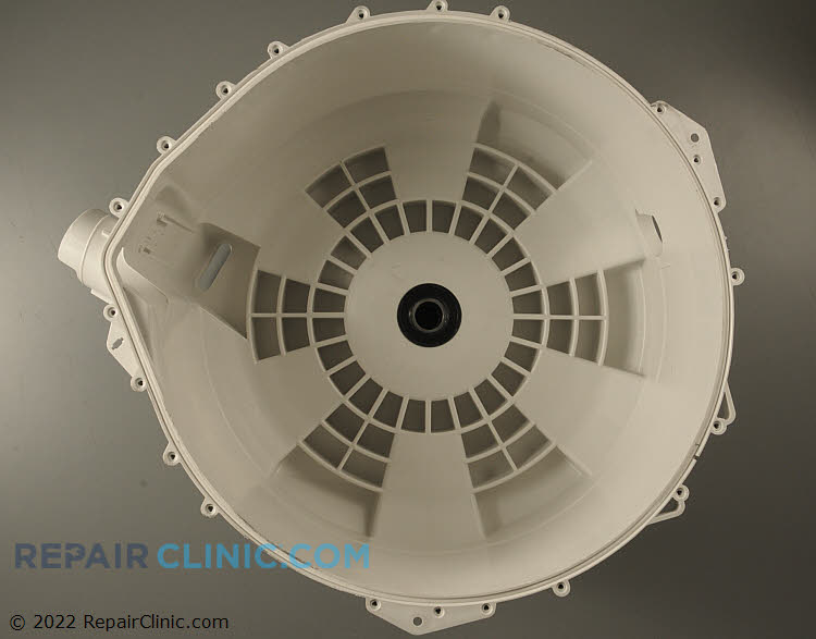 Rear outer tub & bearing assembly. *Bearing only available with tub assembly.