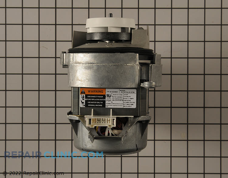 Dishwasher Circulation Pump Wpw10757217 Fast Shipping