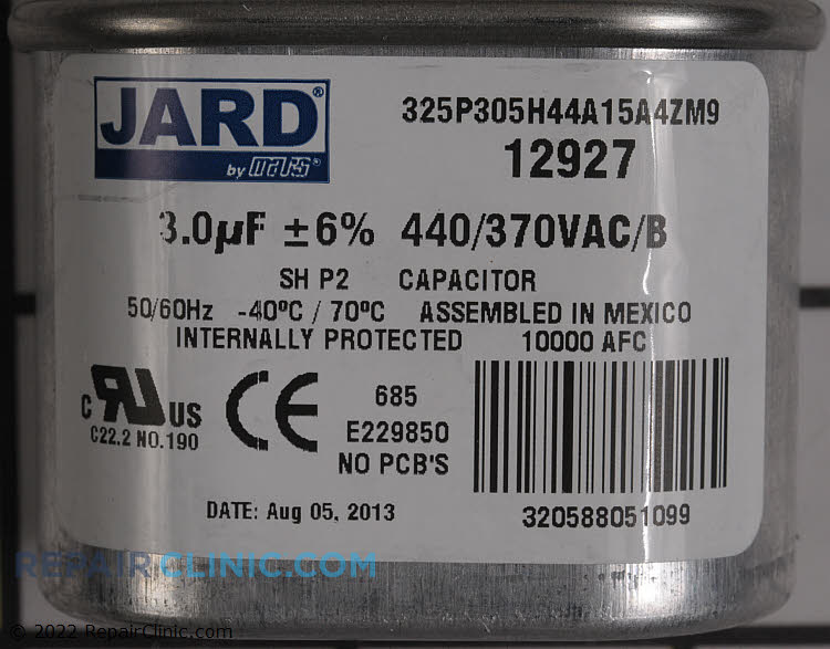Capacitor 54J00 Alternate Product View