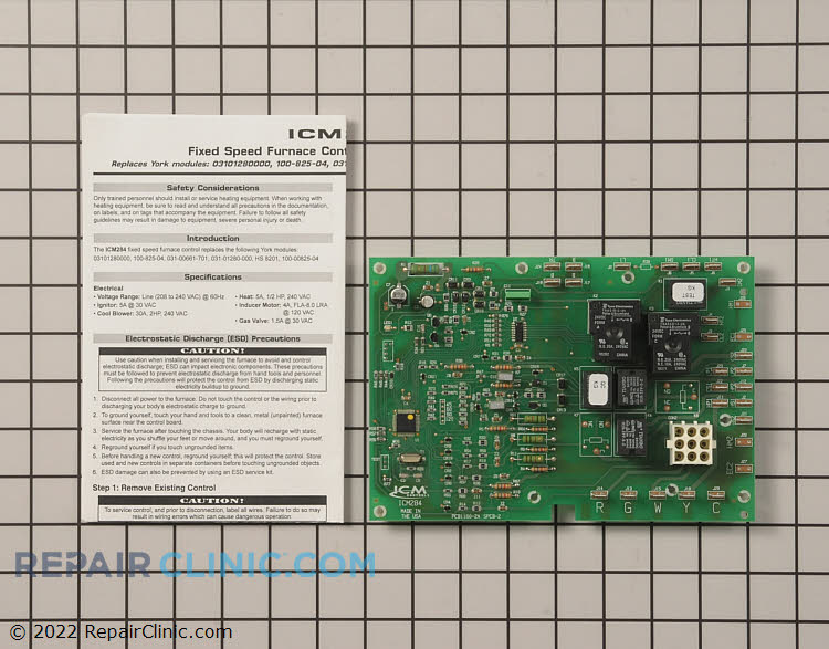 Control Board S1-37328175000 Alternate Product View