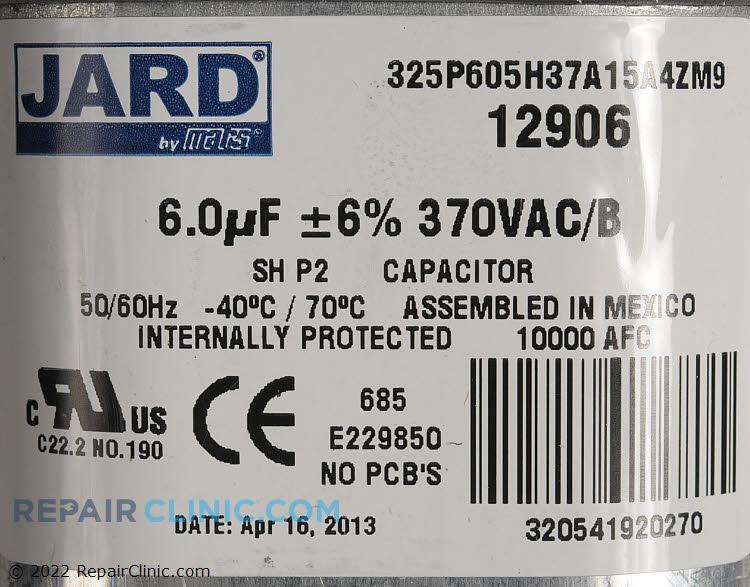Run Capacitor S1-02425898000 Alternate Product View