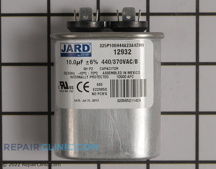 Run Capacitor S1-02431404000 Alternate Product View
