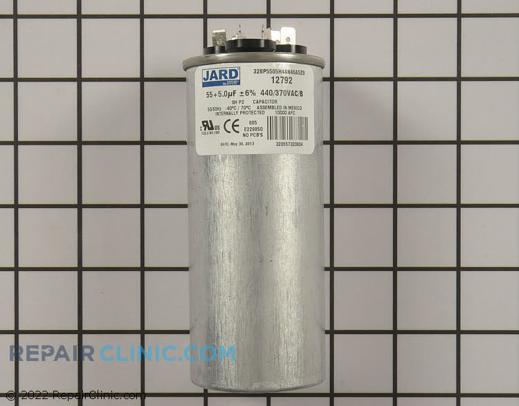 Dual Run Capacitor CAP050550440RTP Alternate Product View