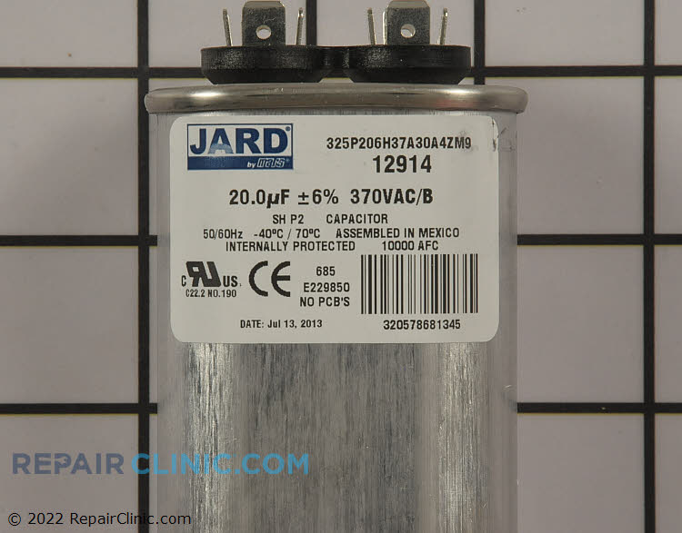 Run Capacitor CAP200000370VAP Alternate Product View