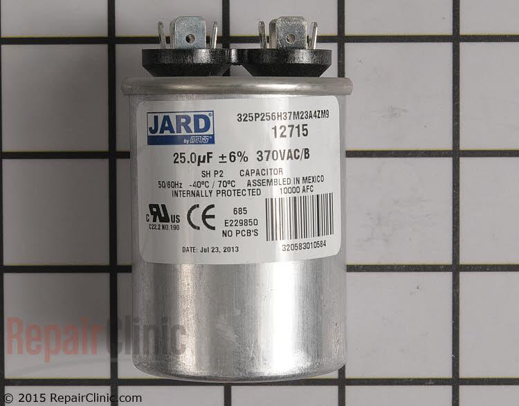 Run Capacitor CAP250000370RPP Alternate Product View