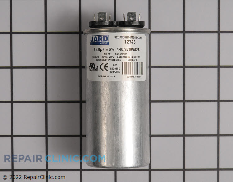 Run Capacitor CAP350000440RTS Alternate Product View