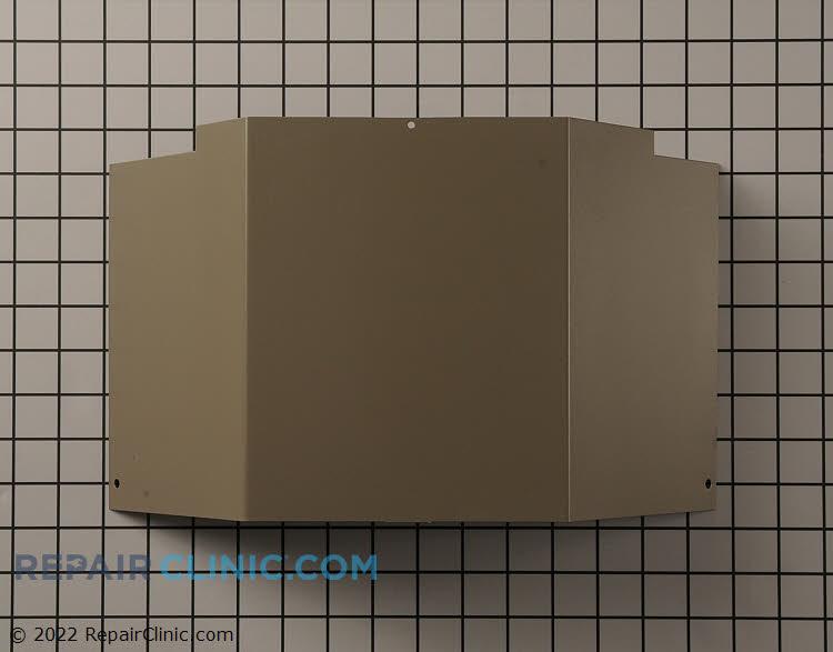 Cover,control box champagne