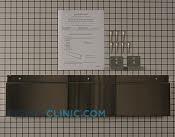 Rear Panel - Part # 3450807 Mfg Part # W10655450