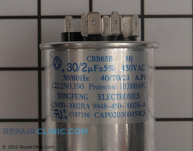 Dual Run Capacitor CAP020300450CS Alternate Product View