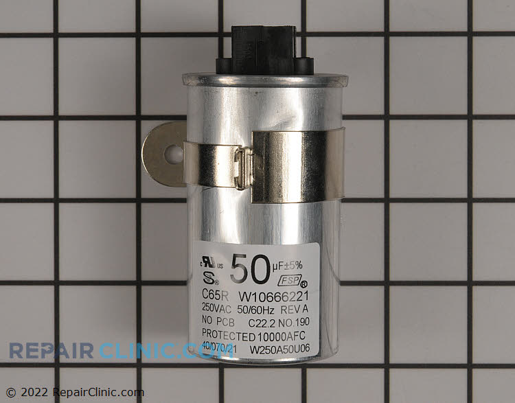 Capacitor W10804664       Alternate Product View